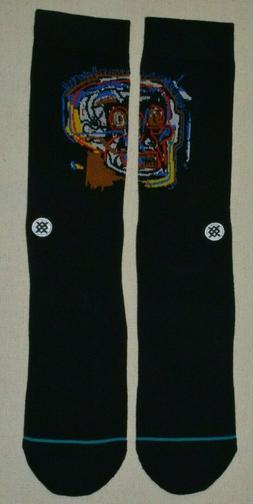 Stance Men's Head Case Socks,Large,Black
