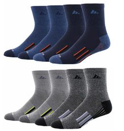 Adidas Men's High Quarter Sock 4-Pair Climate Moisture Wicki