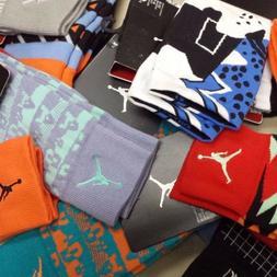 Nike Men's Jordan Elite-Crew Basketball DRI-FIT Socks M 6-8,