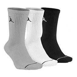 men s jumpman dri fit crew socks