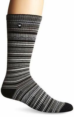 Men's New Balance Lifestyle STRIPE Crew Socks N4781 BLACK /