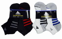 Adidas Men's Low Cut Socks Performance Climalite Cushioned,