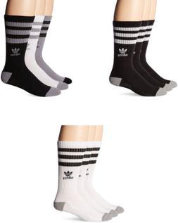 adidas Men's Originals Crew Socks, 3 Pairs, 3 Colors