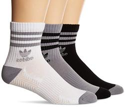adidas Men's Originals Cushioned High Quarter Socks , Light