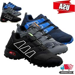 Men's Outdoor Running Shoes Mountaineering Breathable Non-sl