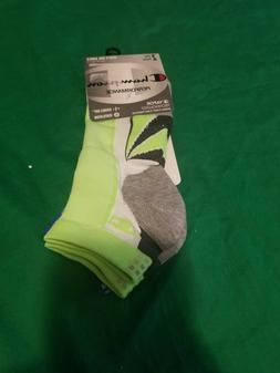 Champion Men's Performance Double Dry Mid Ankle Socks 2 Pair