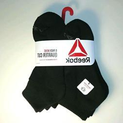 Reebok - Men's Quarter Cut Socks - 6 Pair - Performance Trai