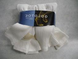 Gold Toe Men's Socks Cotton Crew, 6 pair pack, Gold Toe 656S