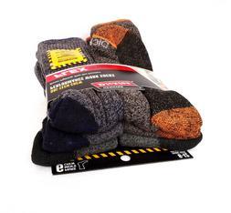 DICKIES Men's Socks DRI-TECH CREW 6 Pairs Performance WORK S