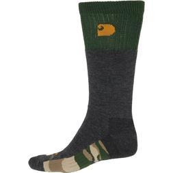 Men's Carhartt Socks Fights Odors Fast Dry New Size Large 6-
