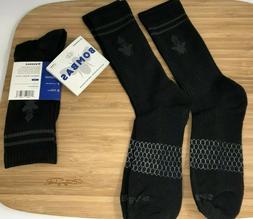 Bombas Men's Socks Size: Large 2 Pair Black Crew Socks Brand