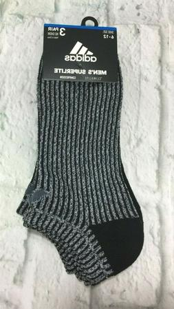 adidas - Men's Superlite No Show Climalite Compression Socks