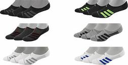 adidas Men's Superlite Stripe 2 Super No-Show Socks