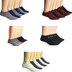 adidas Men's Superlite Xl No Show Socks, 6 Pairs, 7 Colors
