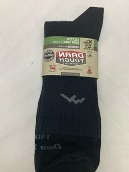DARN TOUGH MEN'S Tactical Boot Sock14018 MERINO WOOL Black X