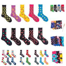 Men's Women's Casual Cotton Multi-Color Socks Hosiery Novelt