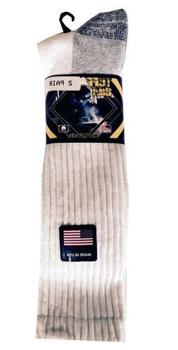 men s work socks 2 pack fits