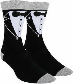 men wedding day groom crew cotton socks