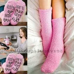 Men Womens Thermal Novelty Funny Socks If You Can Read This