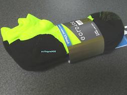 GOLD TOE Mens 3-Pk G-Tec Double Tab Liner Aqua FX Socks 10-1