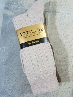 Gold Toe Mens 4-Pair Sheffield Premium Pima Cotton Trouser S