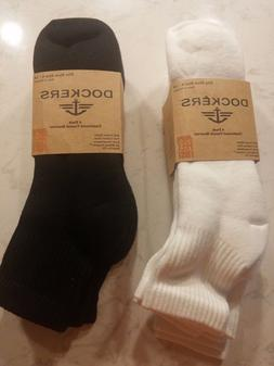Dockers Mens 4 Pairs Cushioned Socks Cotton 10-13 Sock/6-12