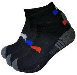 mens puma ankle socks low cut socks quarter socks 10-13 sock