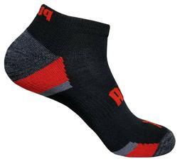 mens puma athletic low cut socks 6 pairs socks size 10-13