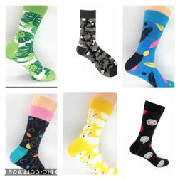 Mens Colorful Funny Design Novelty Socks - $3.50 per pair