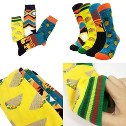 Mens Funny Dress Socks Funky HSELL Men Colorful Crazy Patter