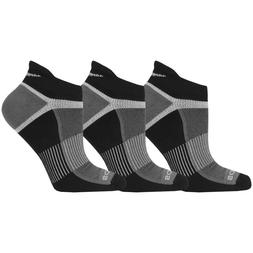 Saucony Mens Inferno No Show 3-Pack Running/Athletic Socks,