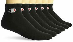 Champion Mens Logo Ankle Socks 6-Pack