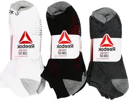 Reebok Mens Low-Cut Socks Athletic Performance Training Size