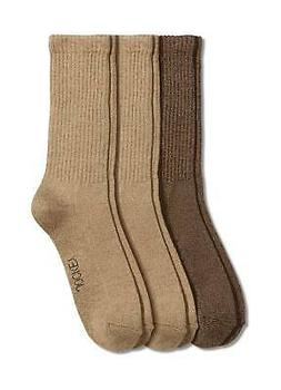 Jockey Mens Men's Marl Crew Socks - 3 Pack