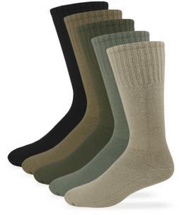 Jefferies Socks Mens Military Uniform Rib Combat Mid Calf Bo