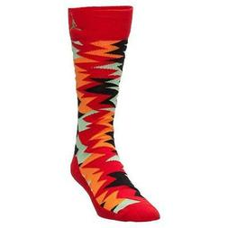 Mens Air Jordan Retro 7 VII Socks University Red Black Light