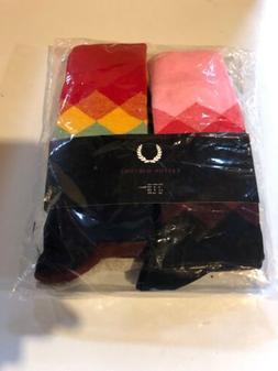 Easton Marlowe Mens Size 6-9 6 Pack Socks NEW In Plastic Mul
