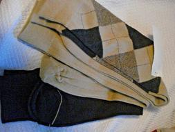 Mens  Socks  Dockers Pack of 3 Dress Browns Size