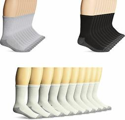Fruit of the Loom Men's Work Gear Cushioned Crew Socks