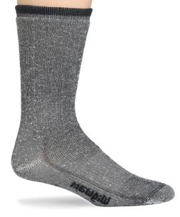 Wigwam Men's Merino Wool Comfort Hiker Crew Length Sock,Navy