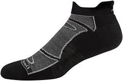 Darn Tough Merino Wool Run/Bike No Show Light Cushion Sock -