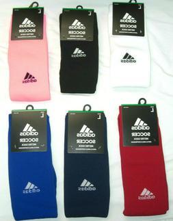 adidas Metro Men's Soccer Socks OTC 1 Pair Large Shoe Size 9