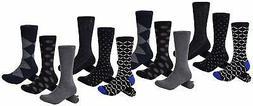 Mio Marino Mens Dress Socks - Moisture Control -, Fine Colle