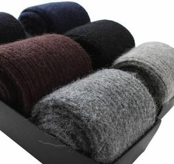 Mongolia 100% Wool Cashmere Thick Socks Mens Warm & Comforta