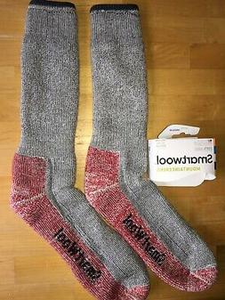 SmartWool Mountaineering Heavy Crew Socks –Gray, Hike Hunt