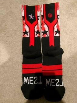 Stance NBA All-Star East and  Socks Basketball Men's Size L/