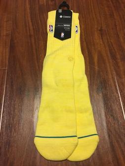 Stance NBA Everyday Socks MEN 9-12 L Crew Height, Cushion 1-