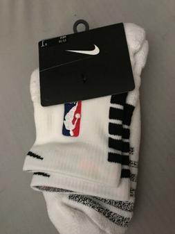 NBA Nike Jordan Basketball Socks White Black PSK656-104 Men