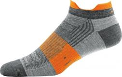 NEW DARN TOUGH 1001 Gray MEN'S RUNNING MERINO WOOL NO SHOW L
