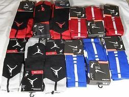 New Nike Dri Fit Elite Cushioned & Air Jordan Crew Basketbal